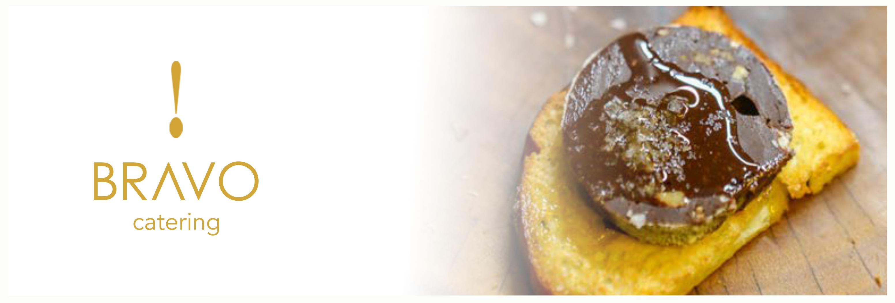 Embutido de chocolate com torradas de brioche